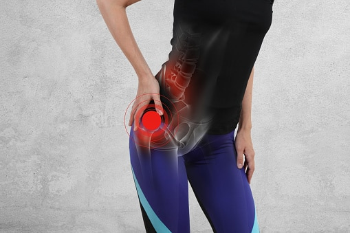 Hip injury compensation